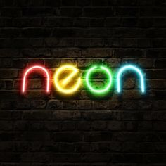 Neon Fluor Colours Lights