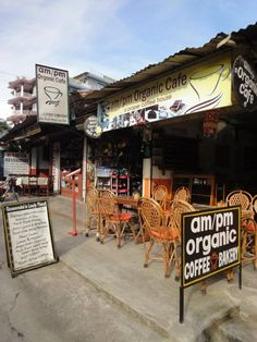 am/pm organic cafe - Pokhara Nepal...best muffins