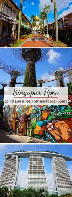 Ihr bereitet euch auf eine Singapur Reise oder einen Stopover vor? Dann findet ihr in diesem Beitrag die verzaubernsten Sightseeing Highlights für die Metropole. Von Little India, Chinatown bis hinzu Arab Street und Marina Bay.