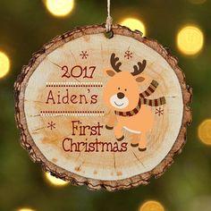 deko mit holzscheiben selber machen deko ideen zu weihnachten und advent