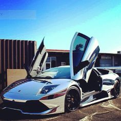 Sweet Chrome Lamborghini - Love the chrome!