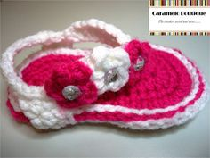 Hey, I found this really awesome Etsy listing at http://www.etsy.com/listing/99532495/crochet-baby-girl-sandals-crochet-baby