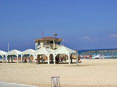 One of Tel Aviv's beaches,June 17 #beach #telaviv