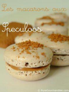 Macarons meet Speculoos - WOWZA!