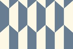 Tile Blue and White wallpaper by Cole & Son