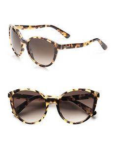 Miu Miu - Phantom Plastic Sunglasses - Saks.com