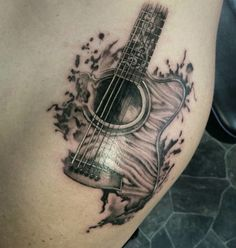 Tricky guitar shoulder piece