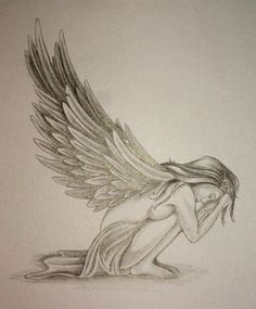Angel Tattoos | Pin Image Angel Tattoo Design By Daniellehopejpg Tattoos Wiki picture ...