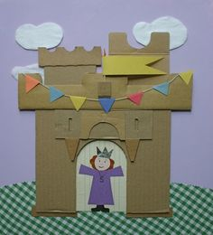 A cardboard castle by my favourite designer Ann Wood. Super fun to do with kids on a weekend.
