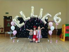 jumbo foil letter balloon display wwwbellissimoballoonscouk