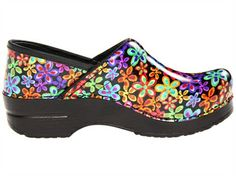 Picture of Dansko Professional Flower Power