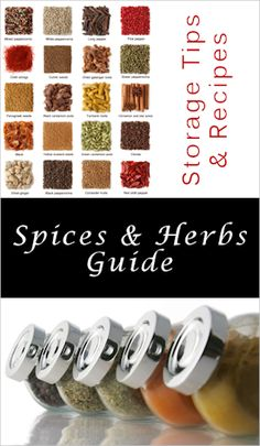 Herb & spice storage guide