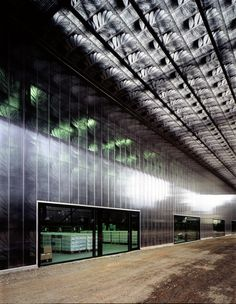 Herzog de Meuron, Ricola Packing and Distribution Center