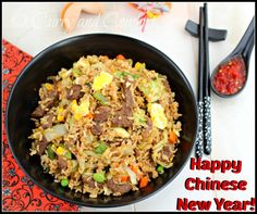 Curry and Comfort: Hoisin Beef Fried Rice