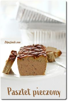 roasted pate - pork pate - pork in pate - meat pate - how to make pate - how to make pate - pate - recipe for pate - recipe for pork pate - recipe for pork pate - pate pork Pork Pate Recipes, How To Make Pate, Banana Bread, Smoothies, Roast, Pudding, Desserts, Polish, Food