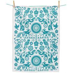 Folklore Tea towel