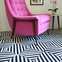 DIY Painted Rugs