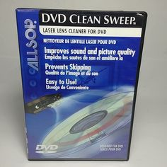 DVD Clean Sweep - Laser Lens Cleaner For DVD, Clean and Works Excellent Clean Sweep, Big Bang Theory, Easy, It Works, Cleaning, Movies, The Big Band Theory, Films, Film Books
