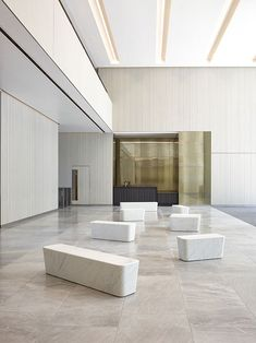 lobby - 240 Blackfriars Road Offices in London by ALLFORD HALL MONAGHAN MORRIS Architects