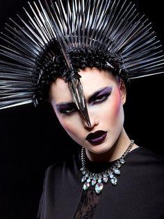 princess warrior. Black Swan by Yevgen Romanenko.
