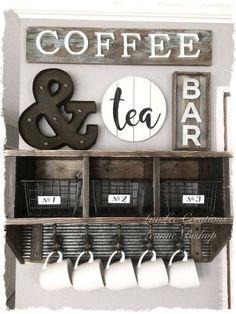 coffee station design ideas