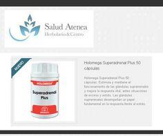 Holomega Superadrenal Plus 50 cápsulas. Estimula y mantiene el funcionamiento de las glándulas suprarrenales y mejora la respuesta vital, antes situaciones de exceso y estrés: http://saludatenea.com/es/home/1074-holomega-superadrenal-plus-50-capsulas-8436003028925.html