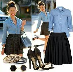 Skirt-blouse