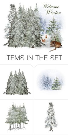 """""""Welcome Winter!"""" by winscotthk ❤ liked on Polyvore featuring art"""