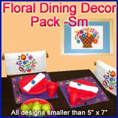 A Hungarian Flowers Décor Pack - Sm