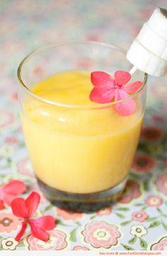 Frozen Alcoholic Drinks | Mango Agave Frozen Wine Cocktail Recipe