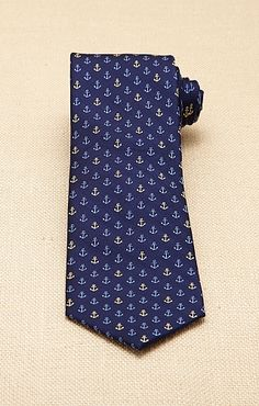 Men's Anchors -A-Weigh Tie - Nautica.com