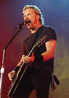 James Hetfield of #Metallica