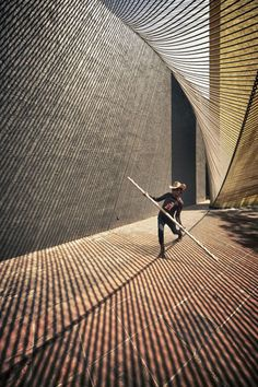Eco Pavilion 2011 by MMX Studio | Mexico City. Rope structure.