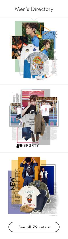"""""""Men's Directory"""" by oh-pororo ❤ liked on Polyvore featuring Alpha Industries, Baldessarini, Urban Outfitters, Christian Louboutin, men's fashion, menswear, jungilwoo, BNTInternational, internationalbnt and J.Crew"""