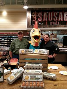 Thank you, Massey Creek Farm and Lindley Park Filling Station for making our Easter Eggstravaganza eggstra special!