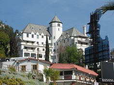 Chateau Marmont.Sunset Blvd by CENtral 1179, via Flickr