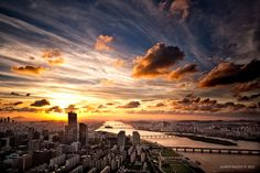 Han River, Seoul by Almer  Frades, via 500px