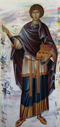 Byzantine Icons, Orthodox Christianity, Orthodox Icons, Holy Spirit, Fresco, Holi, Saints, Quotes, Beauty