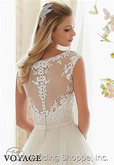 Bridal Gowns Voyage by Mori Lee 6836 Bridal Gown Image 3