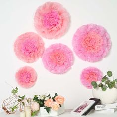 6 pcs 12 16 20 inches wide Blush and Pink Carnations Extra Large Paper Tissue Flowers Pink Wedding Decorations, Diy Wedding Flowers, Flower Decorations, Floral Wedding, Aisle Decorations, Wedding Spot, Bouquet Wedding, Wedding Nails, Wedding Things