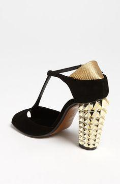 Fendi 'Polifonia' T-Strap Sandal | Nordstrom