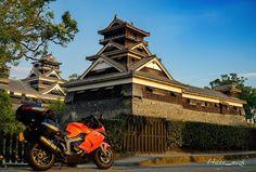 #熊本城#宇土櫓#天守閣#夕暮#夕焼#熊本県#バイク#BMW#K1300s#ツーリング#バイクのある風景#城#空#church#touring#motorcycle#scenery#landscape#moto#bikes#biker#rider#motoadventure#castle#clouds#sky#clouds#sunsets#sunrise_sunsets_aroundworld#japan by 14day_mizk