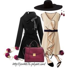Dressed for Lunch, created by jewhite76 on Polyvore