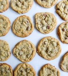 Chewy Potato Chip Chocolate Chip Cookies // How Sweet It Is