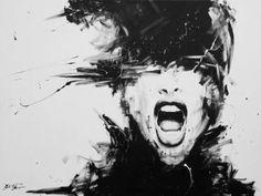 "Saatchi Art Artist David Scholes; Painting, ""La obsesión"" #art"