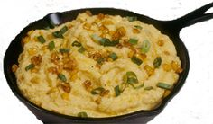 Recipe: Roasted Corn Grits : ZEA's  Ingredients:  2 cups chicken broth  2 cups heavy cream  ¼ stick butter  1 cup golden corn  1 cup yellow grits ( not instant)  Green onions for garnish