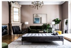 My interior style: Art deco at the home of the founder of Ruth & Joanna Plywood Furniture, Apartment Therapy, Living Area, Living Room, Interior Decorating, Interior Design, Design Design, Scandinavian Living, Louis Xvi