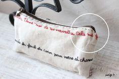 仕上がりが綺麗な内布付ファスナーポーチの作り方♪マロン巾着アレンジレシピ : neige+ 手作りのある暮らし
