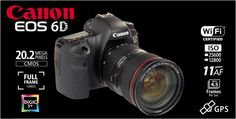 Canon EOS 6D kit II with EF 24-70L IS USM built-in Wifi and GPS Rp.28.580.000.- | Bonus Battery LP-E6 + Backpack Berlaku s/d 11 Agustus 2013