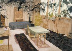 Tableau Time Island de Mamma Anderson http://www.vogue.fr/mode/inspirations/diaporama/le-moodboard-de-christophe-lemaire/11248/image/660079#tableau-time-island-de-mamma-anderson